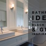 Bathroom Ideas - Black White & Grey Inspirations - designlibraryAU