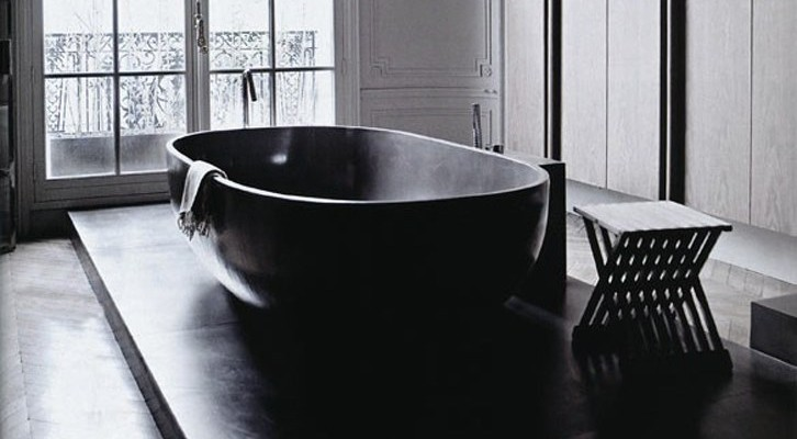 black bath tubs an elegant statement the design
