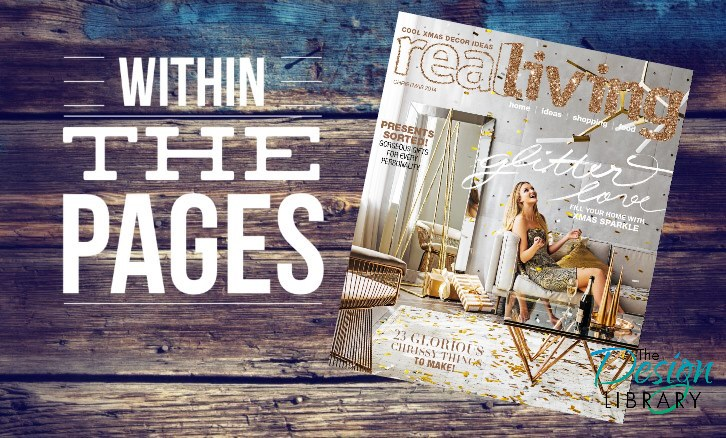 7 Great Finds Within The Pages - Real Living Magazine December 2014 - www.designlibrary.com.au