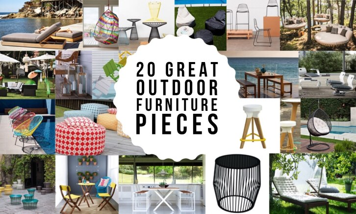 Outdoor Living - 20 Great Must See Outdoor Furniture Pieces   www.designlibrary.com.au