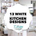 13 White Kitchen Designs - www.designlibrary.com.au
