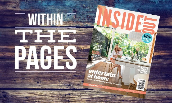 10 great finds Within The Pages of Inside Out December | www.designlibrary.com.au2014
