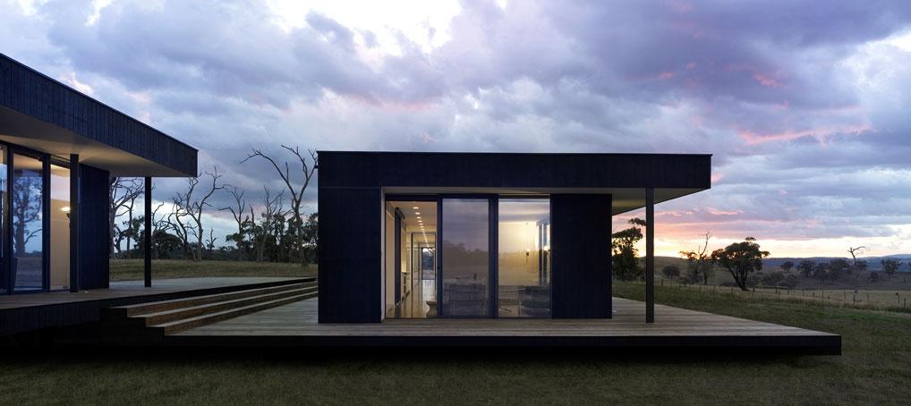 #31DaysofDesignFabulous - www.designlibrary.com.au - Day 12 -Intermode - Designer #kithomes - Kilmore House Exterior