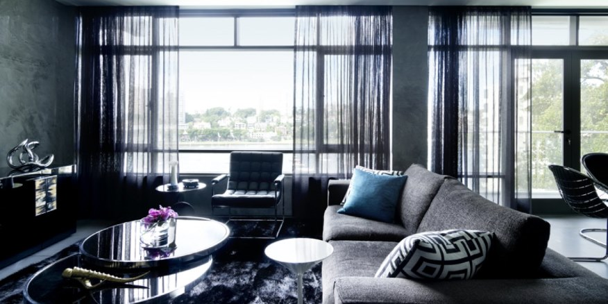 #31DaysofDesignFabulous - www.designlibrary.com.au - Day 13 -Greg Natale #Interior Design Elizabeth Bay Apartment Lounge Room