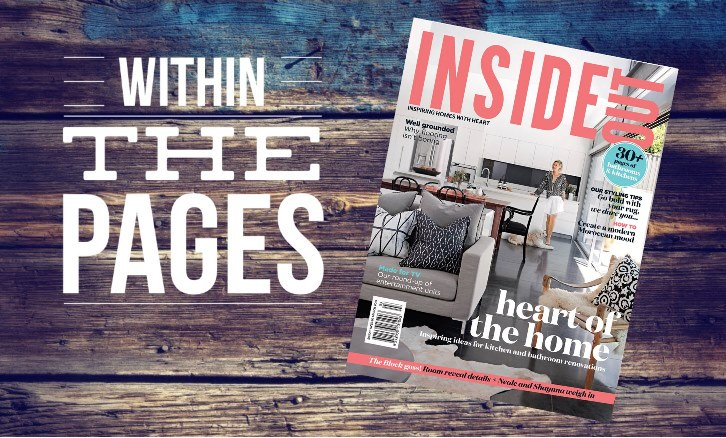 Design Library Au - Within The Pages - Interior Design Magazines - Inside Out March 2015