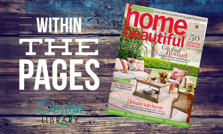 Within The Pages - Home Beautiful March 2015 - www.designlibrary.com.au