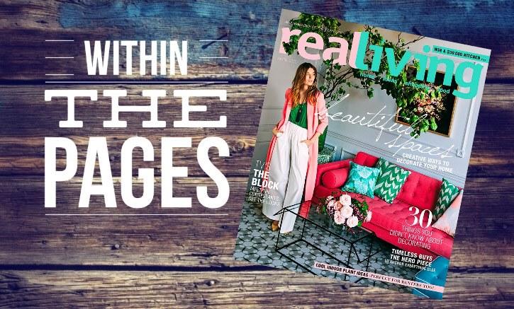 Design Library Au - Interior Design Magazines - Real Living April 2015