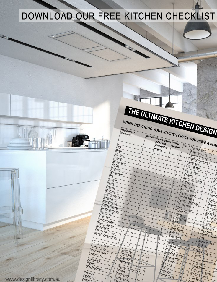 The Ultimate Kitchen Designs Checklist