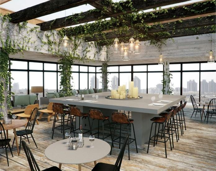 Caesarstone Classico - Raw Concrete - Within The Pages - Interior Design Magazines Vogue Living May June 2015 - designlibrary.com.au