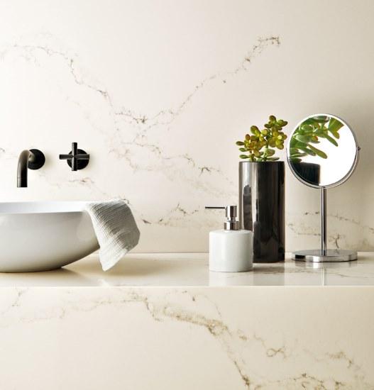 Caesarstone - Statuario Nuvo - Marble Inspired - Within The Pages Interior Design Magazines   designlibrary.com.au