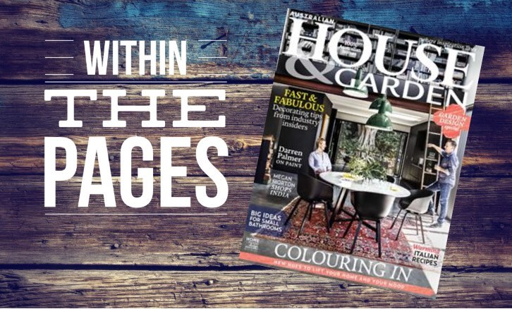 Interior Design Magazines Australian House Garden June 2015