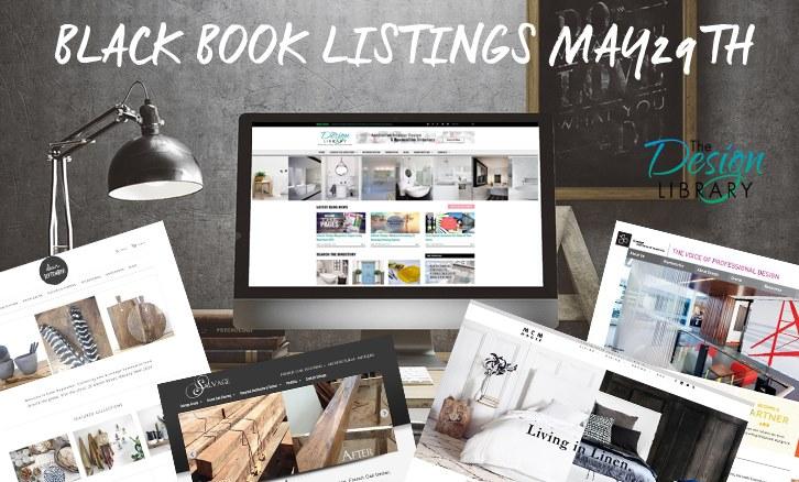Interior Design - The Design Library AU Designer Black Book Listings 29-05-2015 - designlibrary.com.au