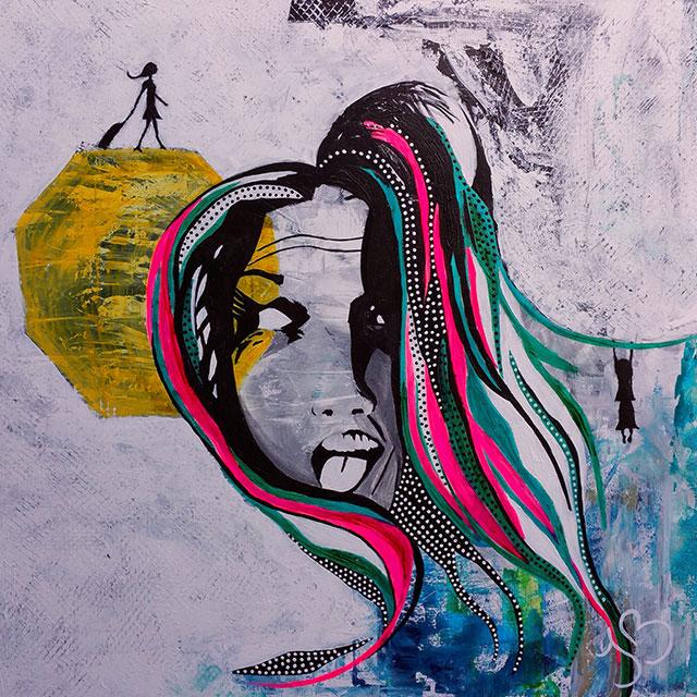 Limited Edition Artwork - ArtGoat - Ilona Barac   designlibrary.com.au