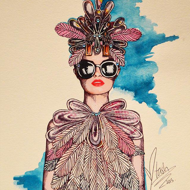 Limited Edition Artwork - ArtGoat - Natasha Dearden   designlibrary.com.au