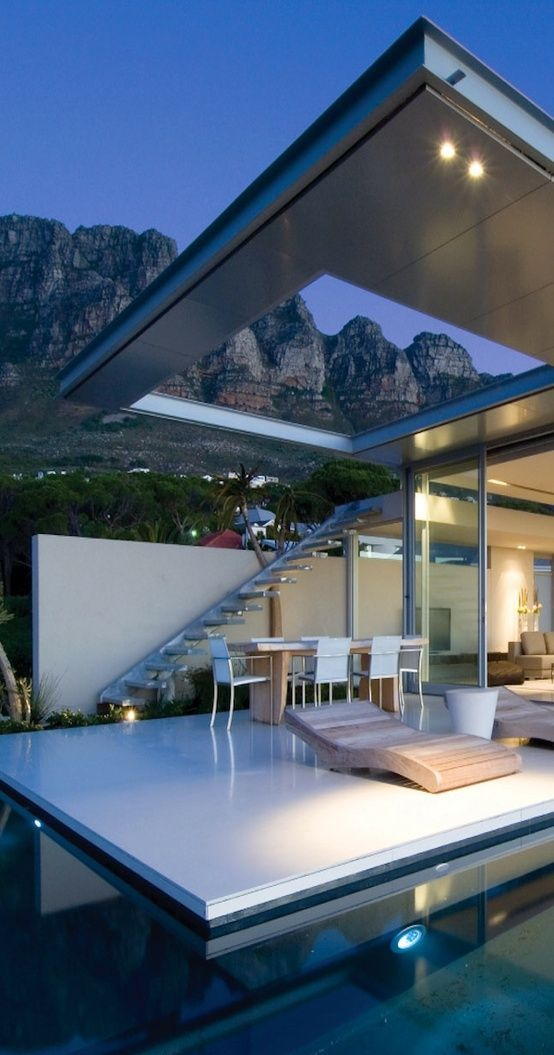 Pins of the week at The Design Library Au 3rd May - Open air living by SAOTA Architects via Just The Design | desiglibrary.com.au