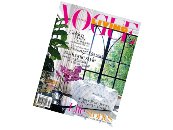 Vogue Living May June 2015 - Within The Pages - Interior Design Magazines - designlibrary.com.au
