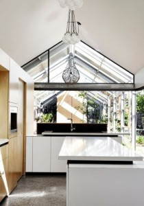 White Modern Kitchens - Cut Paw Paw, Seddon - Andrew Maynard Architects - Photographer Peter Bennetts - Archilovers | designlibrary.com.au