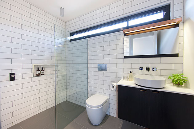 4 Ways To Renovate To help The Environment - Ecoliv - Prefabricated and Modular Sustainable Homes -EcoBalanced Bathroom   |  designlibrary.com.au