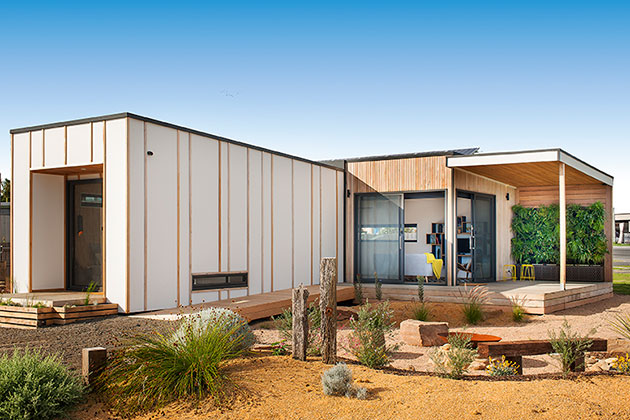 4 Ways To Renovate To help The Environment - Ecoliv - Prefabricated and Modular Sustainable Homes -EcoBalanced Exterior   |  designlibrary.com.au