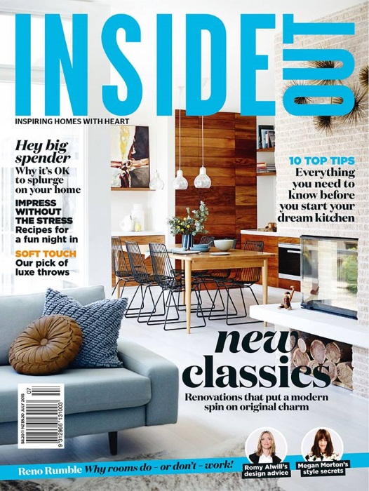 Inside Out July 2015    Interior Design Magazines | Designlibrary.com.au
