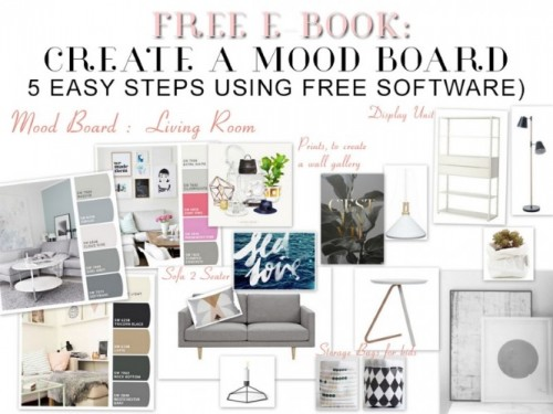 The Humble Notebook An Essential Interior Design Tool By Melinda McQueen - Create a Mood Board | designlibrary.com.au