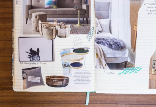 The Humble Notebook An Essential Interior Design Tool By Melinda McQueen - Design Therapy   designlibrary.com.au