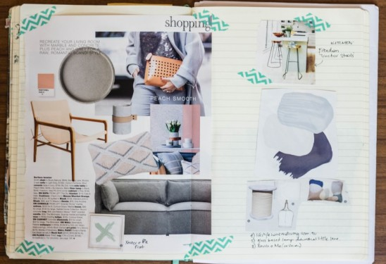 The Humble Notebook An Essential Interior Design Tool By Melinda McQueen - Develop your style | designlibrary.com.au