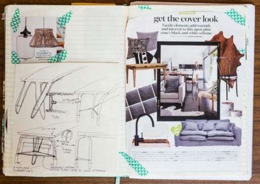 The Humble Notebook An Essential Interior Design Tool By Melinda McQueen   designlibrary.com.au