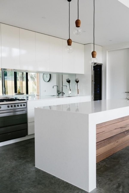 Kitchen designs kitchen benchtops costdesign library au for Modern kitchen designs melbourne
