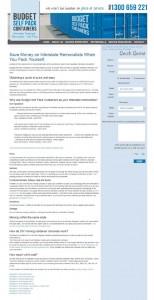 Budget Self Pack Container - Interior Design and Reno Directory - designlibrary.com.au
