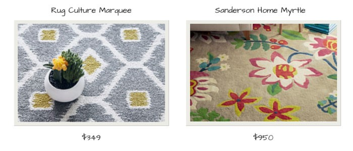Culture Marquee Rug and Sanderson Home Myrtle - Catwalk Rugs | designlibrary.com.au