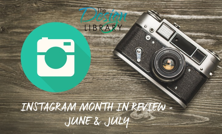 Design Library AU - Instagram Month in Review Video - June and July 2015 | designlibrary.com.au