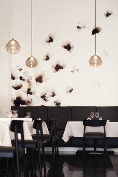 Emma Hayes Custom #Wallpaper Project - The French Cafe 2014 - Photographer Dean Foster - #customwallpaper   designlibrary.com.au