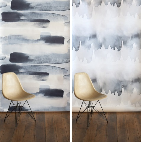 Emma Hayes - River and Tidal Wallpaper | designlibrary.com.au