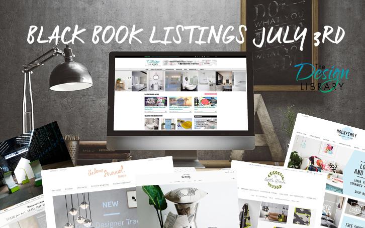 Interior Design - The Design Library AU - Designer Little Black Book Listings 03-07-2015 | designlibrary.com.au