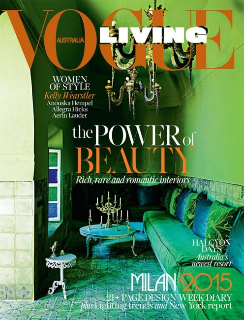 Vogue Living July August 2015 - Interior Design Magazines |  designlibrary.com.au