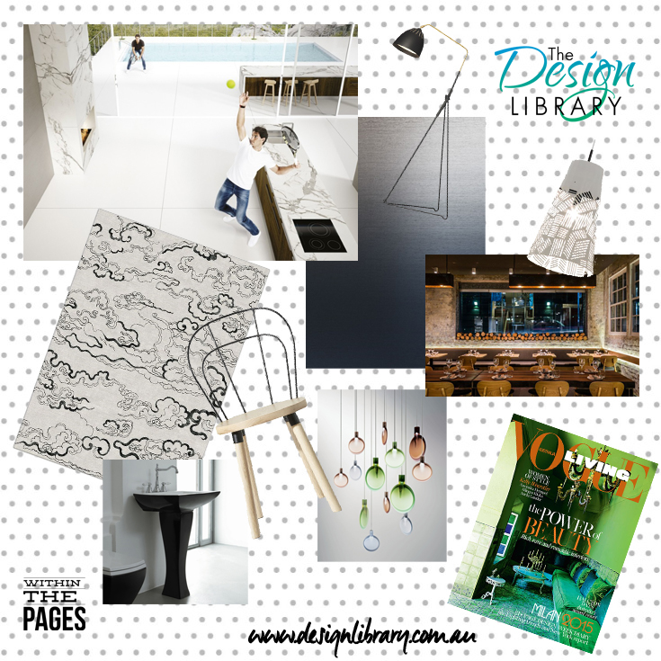 Within The Pages - Interior Design Magazines - Vogue Living July August 2015 |  designlibrary.com.au