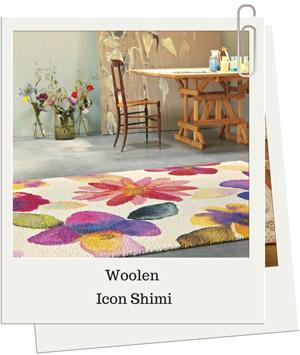 Woolen-Floral-Rug By Catwalk Rugs