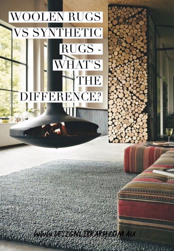 Woollen Rugs Vs Synthetic Rugs - What is the difference | designlibrary.com.au