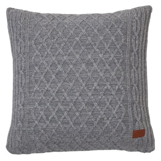 Cross Cableknit Cushion by Gant - Belle Magazine Aug - Sep 2015 | designlibrary.com.au