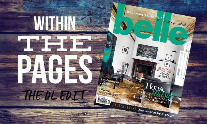 Design Library Au - Within The Pages Interior Design Magazine - Belle August - September 2015 | designlibrary.com.au