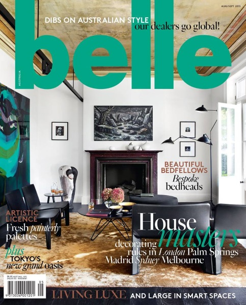 Interior Design Magazines Belle Magazine August September 2015