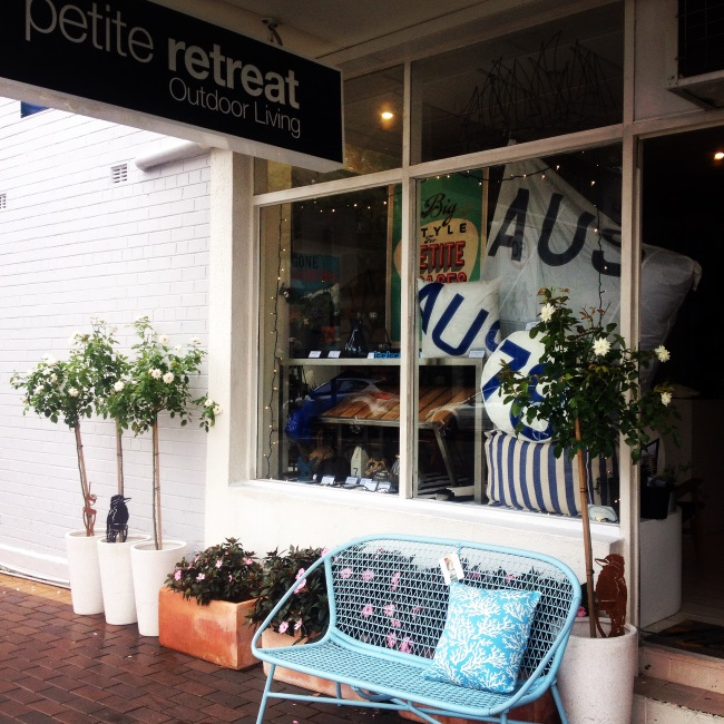 Petite Retreat - Outdoor Living in Small Spaces -www.petiteretreat.com.au store Mosman | The Design Library AU