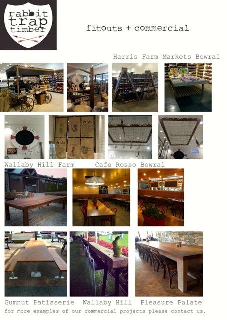 Rabbit Trap Timber - Commercial Fitouts | designlibrary.com.au