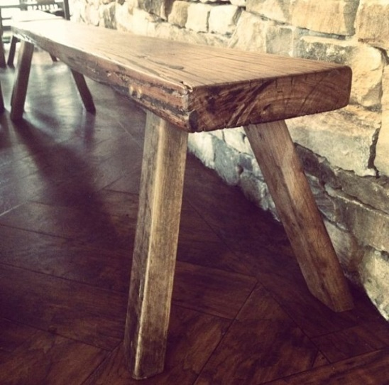 Rabbit Trap Timber - Miners Bench Rustic 3m x 30cm | designlibrary.com.au