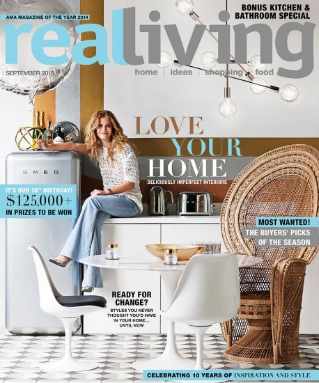 Real Living Magazine - The DL Edit - Interior Design Magazines - Real Living September 2015 | designlibrary.com.au