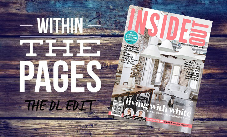The DL Edit by the Design Library Au - Within The Pages of Interior Design Magazines - Inside Out August 2015 | designlibrary.com.au
