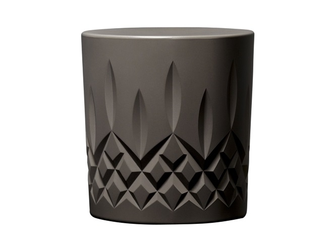 Keith Melbourne Crystal stool in Twilight from Zenith Interiors | designlibrary.com.au
