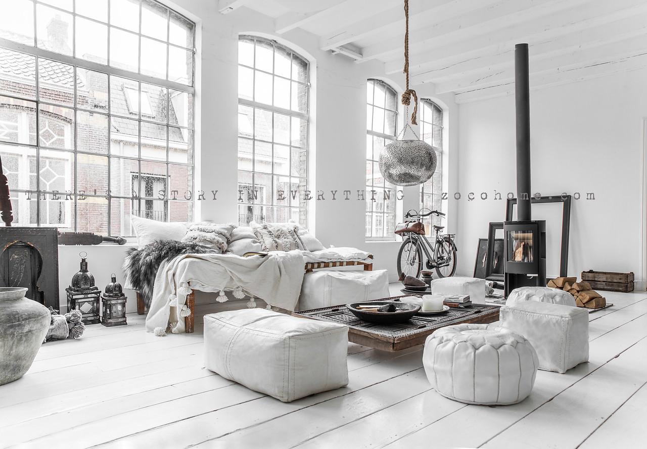 Zoco Home - Ethnic Scandinavian Decor - Living Room | designlibrary.com.au