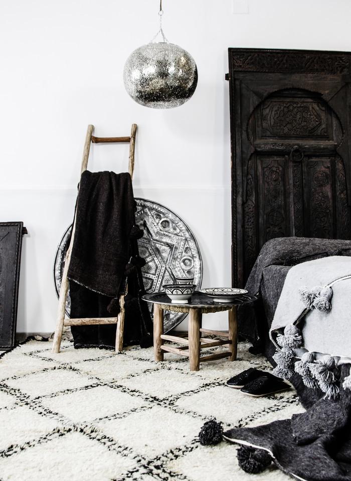 Zoco Home - Ethnic Scandinavian Decor - Morroccan Vintage Trays | designlibrary.com.au